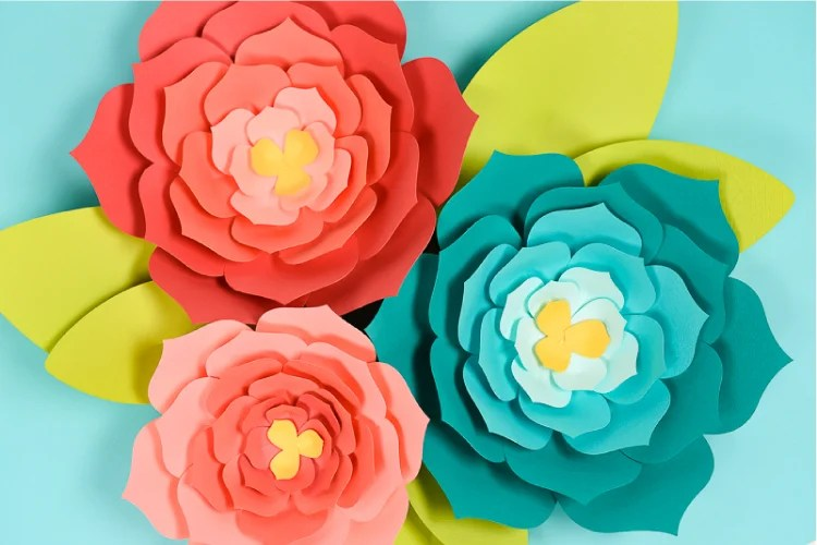 tissue paper flowers no wire
