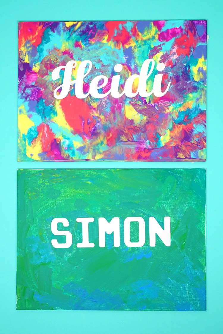Name-Paintings-Kids-Art-Craft-Project