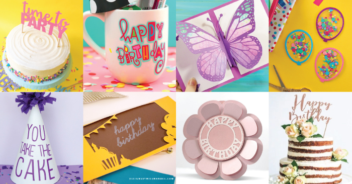 Free Birthday Party SVG Files - Decor, Invitations, Apparel and More!