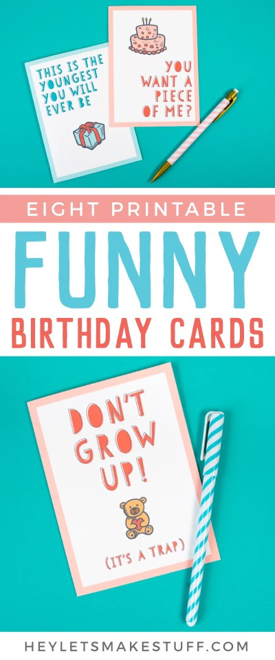 Free Funny Printable Birthday Cards for Adults - Eight ...