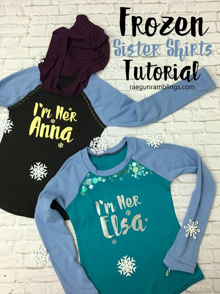 Anna and Elsa Shirts