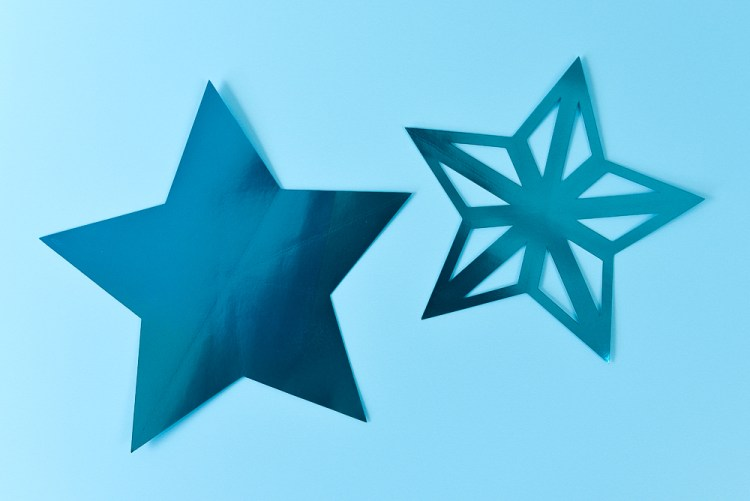 Stars before folding