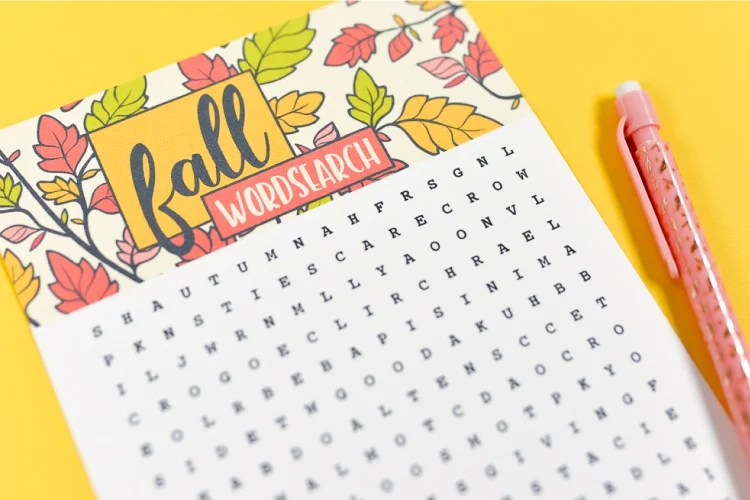 Celebrate the changing of the seasons with this festive fall word search! Print it out and find all sorts of autumnal words—it's perfect for kids, adults, teachers and students!