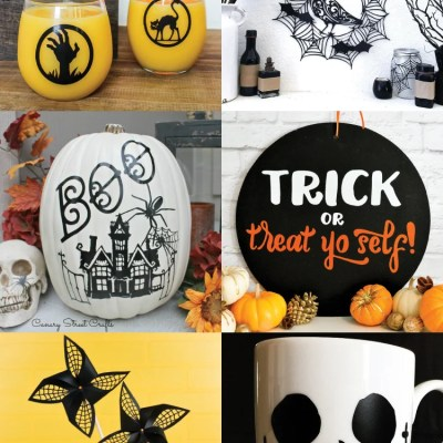 Halloween Crafts and Projects with the Cricut