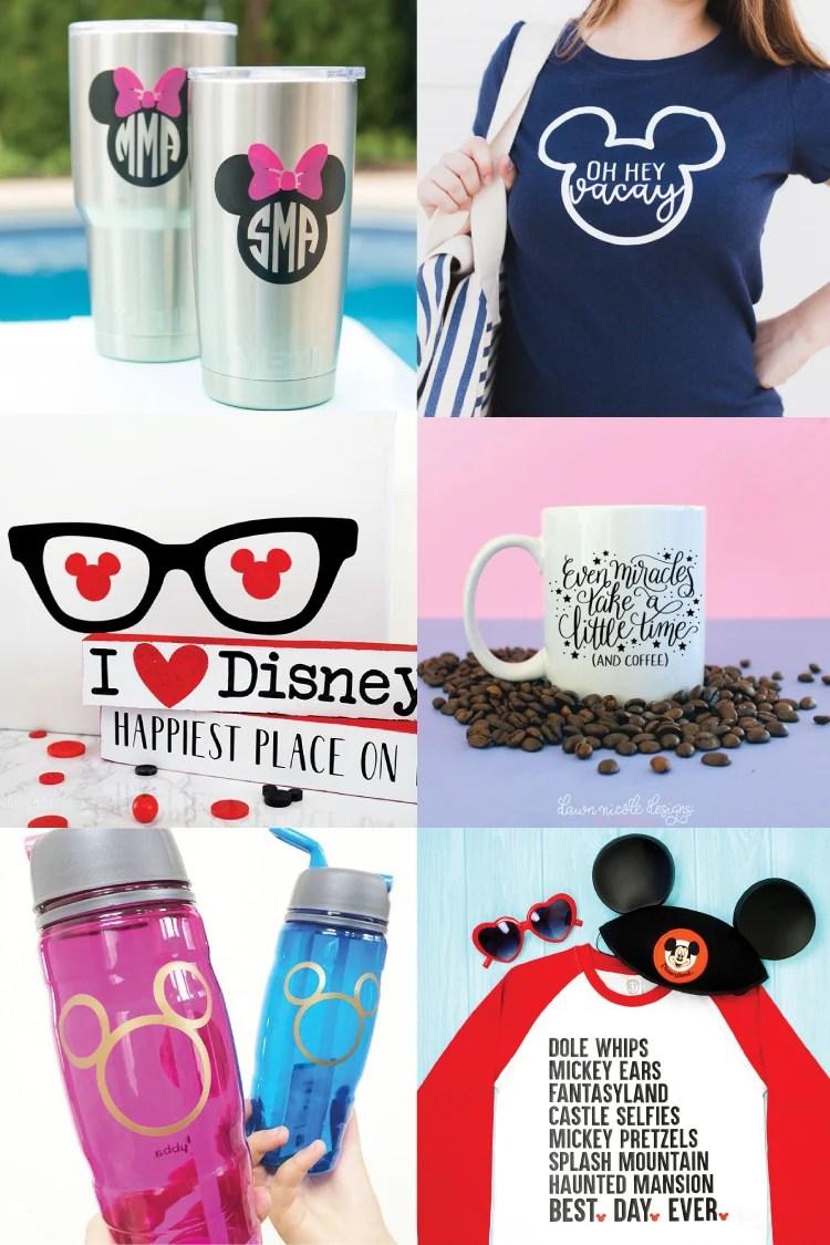 44e410016837d Disney SVG Files and Cricut Crafts - Hey, Let's Make Stuff