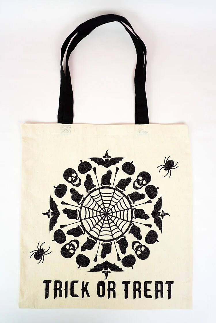 Mandala Trick or Treat Bag
