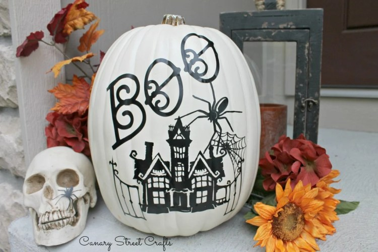 Pumpkin Decal