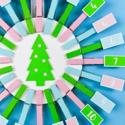 Easy DIY Advent Calendar with the Cricut