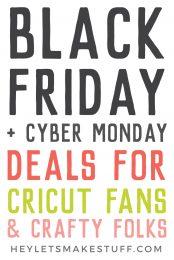 Cricut Black Friday Deals