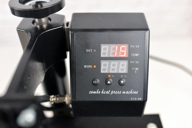 Heatpress controls