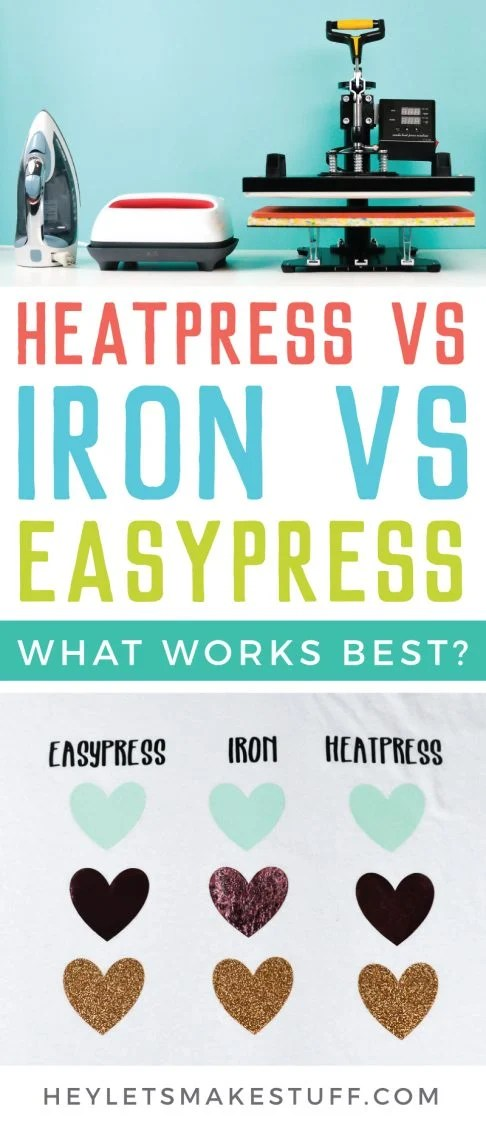 What is the best heat source for using iron on vinyl (HTV) pin image
