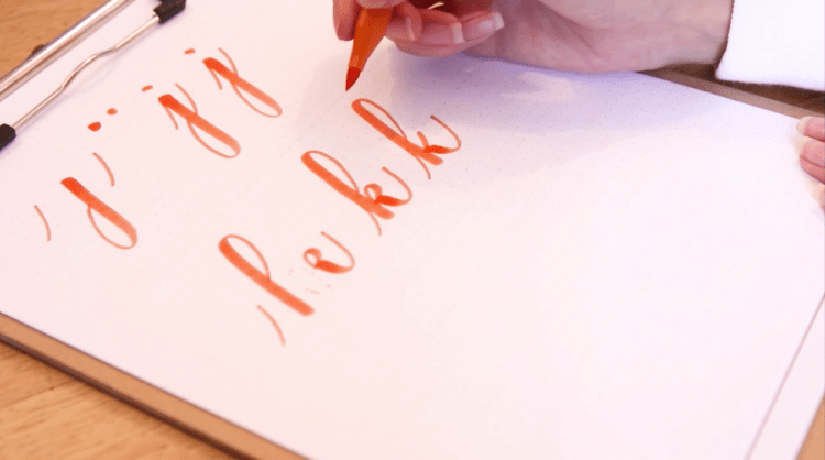 The ABCs of Brush Pen Lettering - Learn the Lowercase Alphabet in 20 Minutes! | Emma Witte