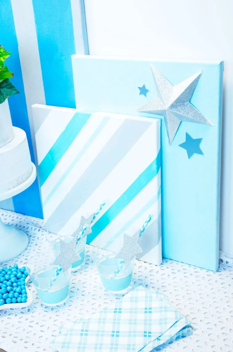 Little Star Baby Shower with Cricut