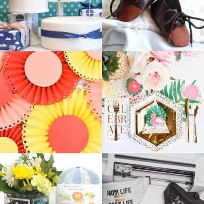 DIY Baby Shower Ideas with the Cricut