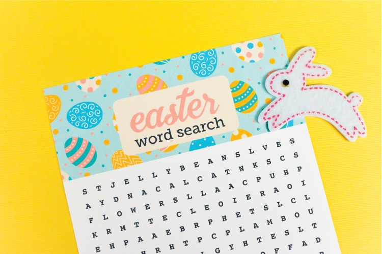 Get ready for the Easter Bunny with this festive printable Easter word search! Find all sorts of Easter-related words—it's perfect for kids, adults, teachers and students!