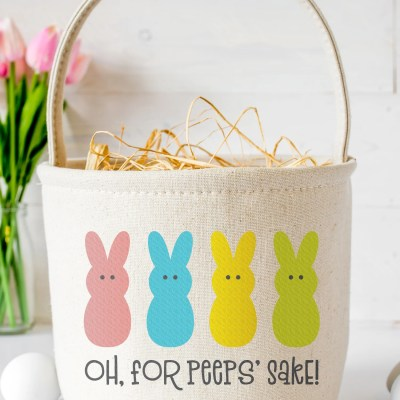 Free For Peeps Sake SVG + 15 Free Easter Cut Files!