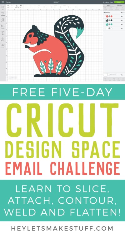 Learn Cricut Design Space - A Five-Day Email Challenge