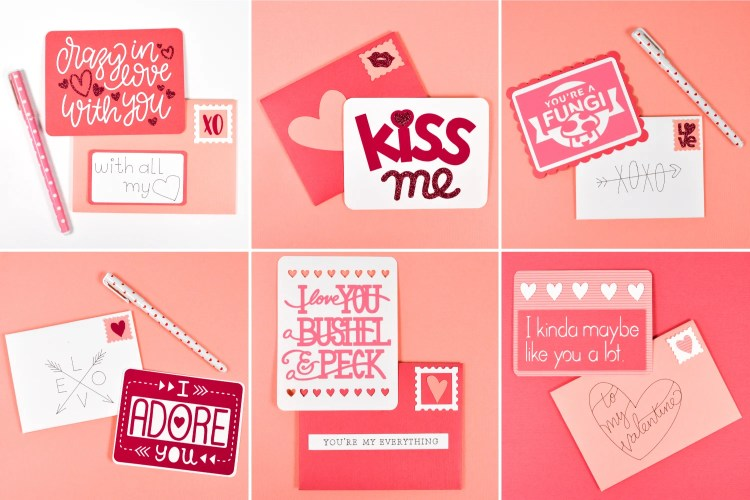 Let your spouse, kids, or bestie know how much you love them with these love letters made using the Cricut! A great Valentine's Day idea—though you can always remind someone of that you care year round!