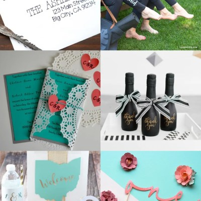 DIY Wedding Ideas with the Cricut