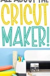 All About Cricut Maker pin image