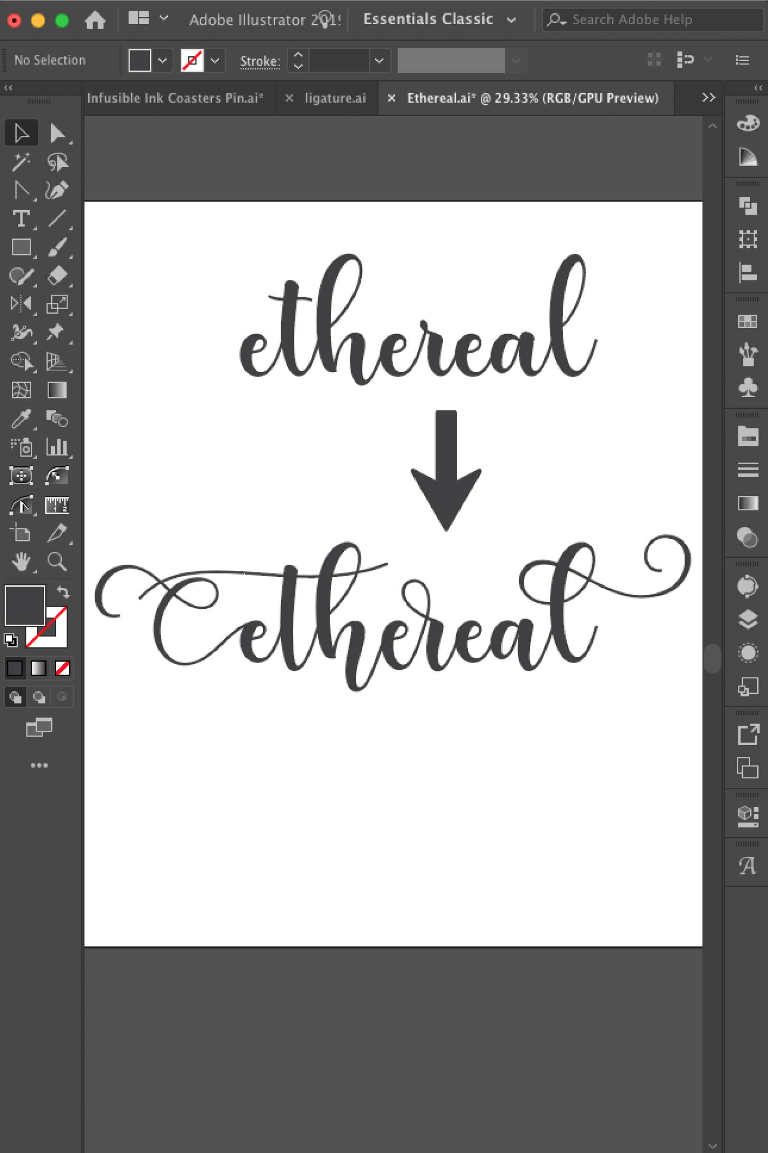 How to Make SVG Files for Cricut Using Illustrator - Hey, Let's Make