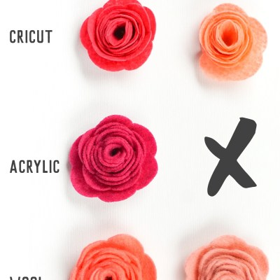 How to Cut Felt with a Cricut Explore and Maker
