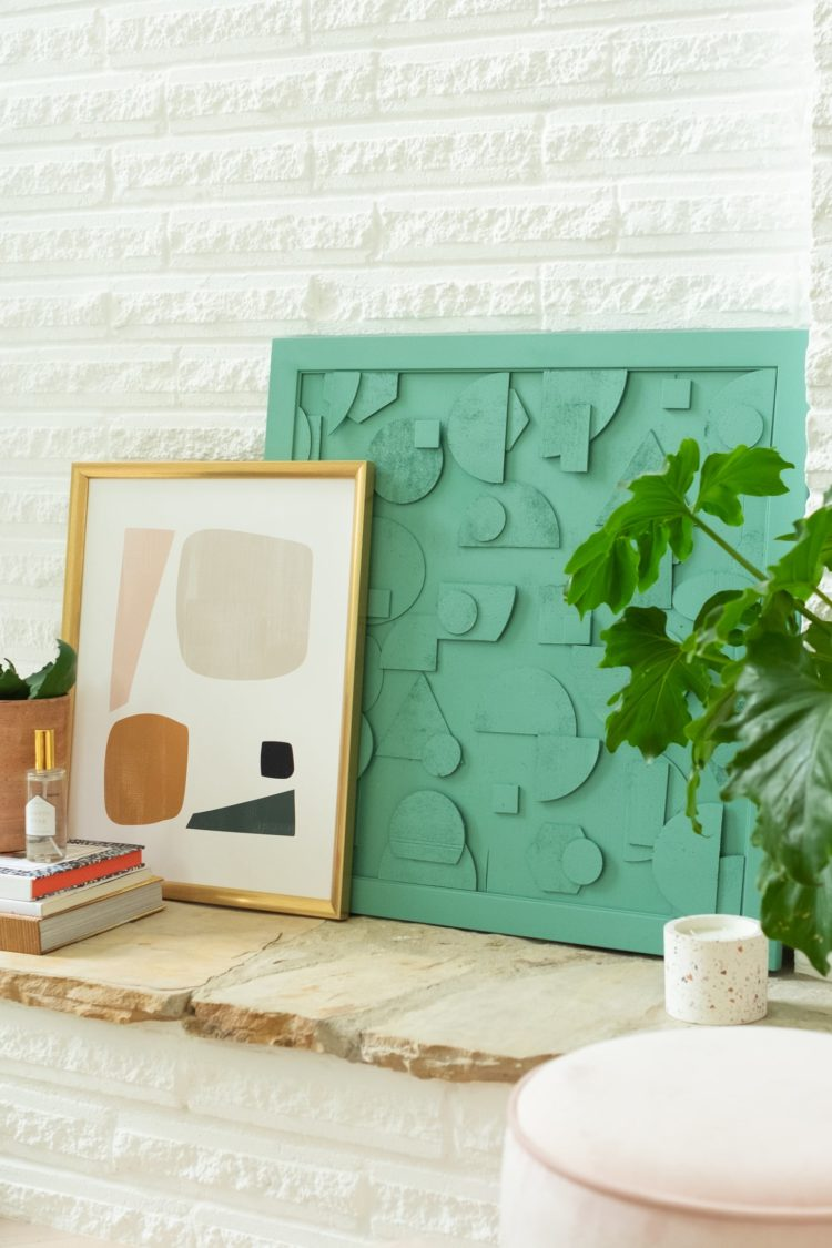 If modern art is your style then let sugarandcloth.com show you how to make some DIY wooden artwork. Cutting wood with your Cricut is easier than you might think.