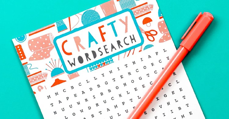 Get those creative juices flowing with this Free Printable Crafty Word Search. This fun activity is perfect for a girls' craft day, moms' night in or just quiet time recharge. Happy hunting!