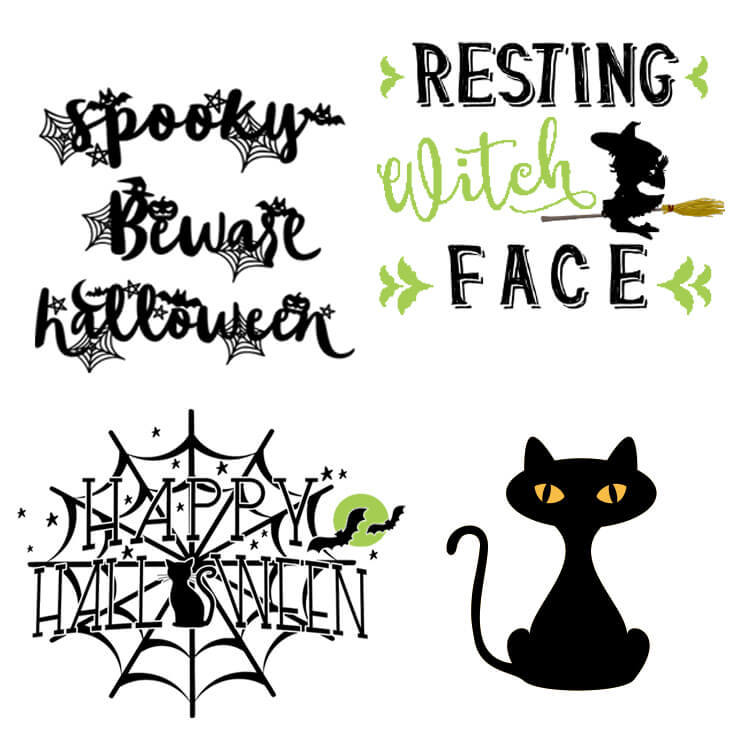 Rufflesandrainboots.com shares a huge collection of Free Halloween SVGs. Add your favorites to party decor, t-shirts, totes and more.