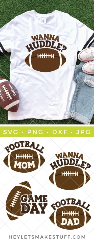 If your favorite part of fall is the beginning of football season then get ready to cheer for this Football SVG Bundle. Get those t-shirts, sweatshirts, ball caps, totes and more game day ready!
