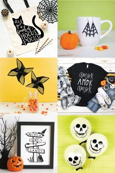 Spooky, ghoulish, silly or cutesy - whatever your Halloween style, this collection of Free Halloween SVGs and Cut Files is perfect for all your decorating and trick or treating plans.