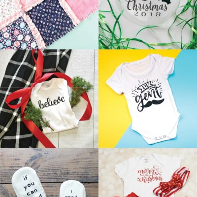 Cricut Christmas Gift Ideas for Baby