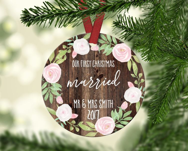 Marriage ornament from By Tracey