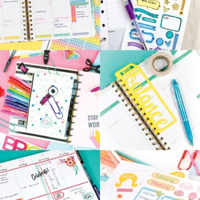 Planner Ideas with the Cricut