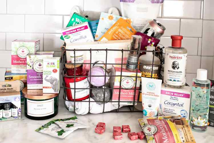 new mom gift basket for pampering