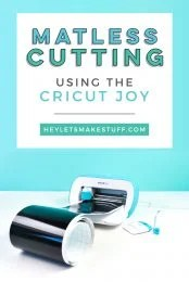 Cut up to 20' of images in a single go with Cricut Smart Vinyl and Cricut Joy! Matless cutting is now possible with a Cricut—you'll save both time and money with this new Cricut feature!