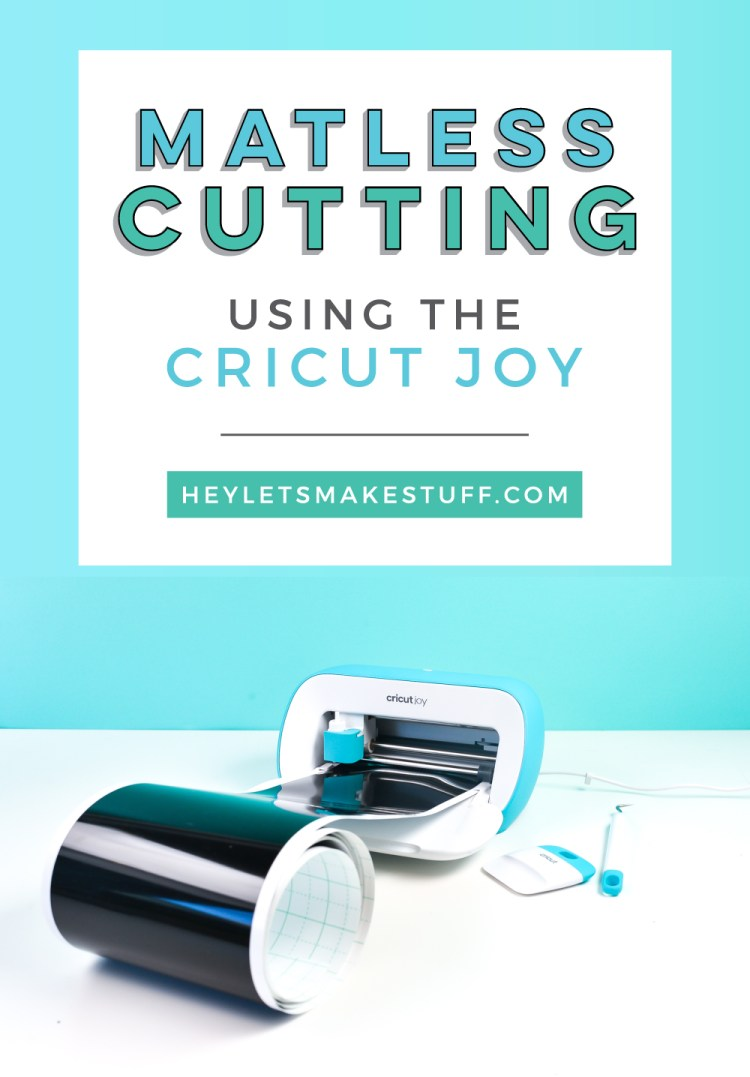 Matless Cutting using the Cricut Joy pin image