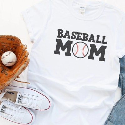 Free Baseball Dad and Baseball Mom SVG Files