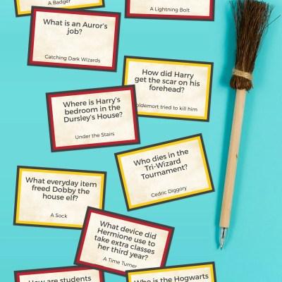 Printable Harry Potter Trivia