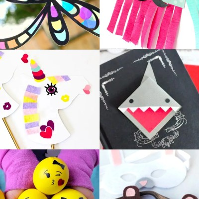 Kids Crafts with the Cricut