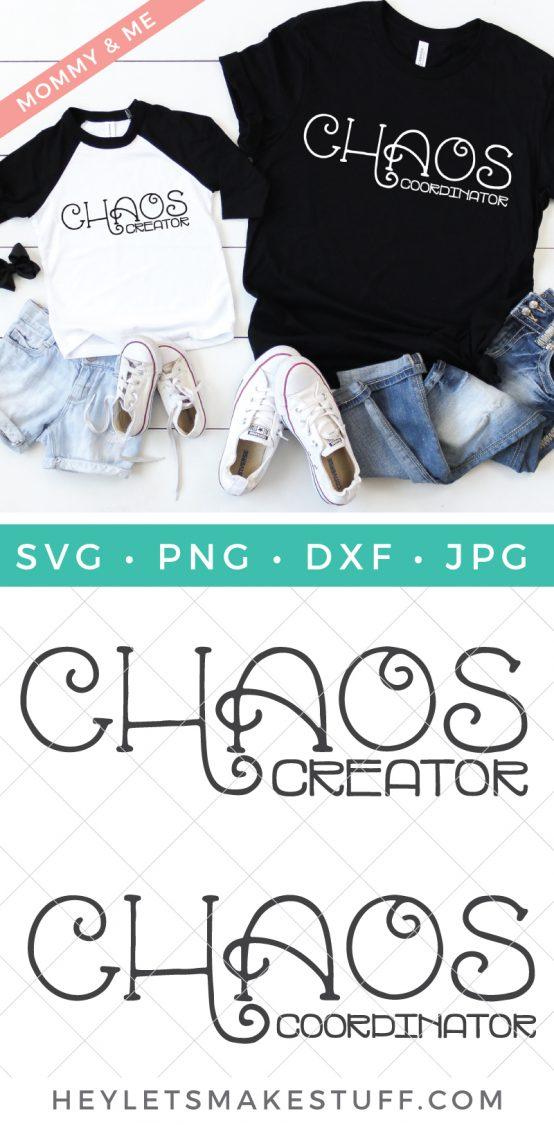Chaos Coordinator and Chaos Creator SVG set pin image