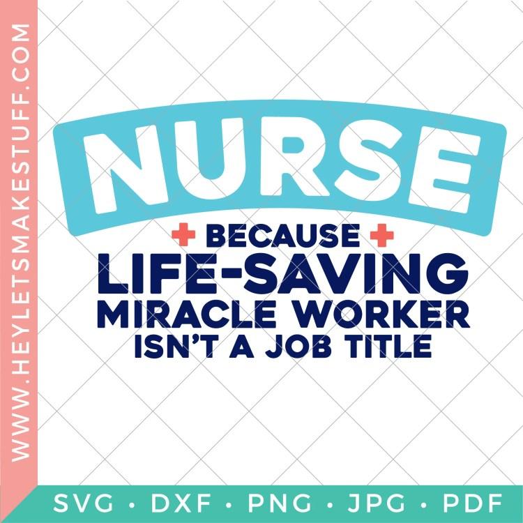 Nurse SVG image