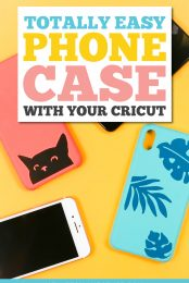 Totally Easy Phone Case with your Cricut pin image
