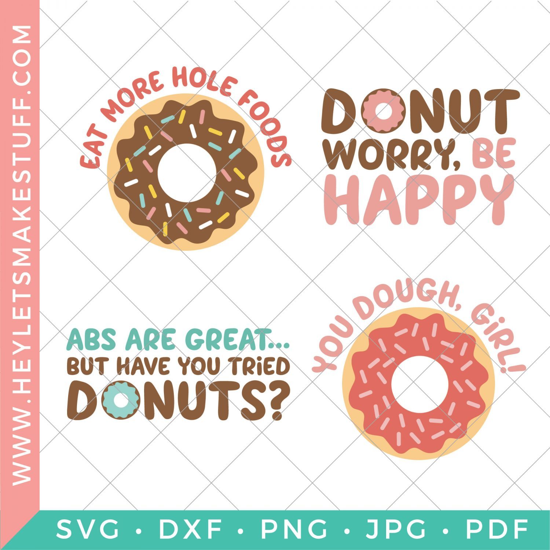 Donut SVG files