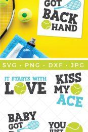 tennis svg pin image