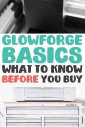 Glowforge Basics pin image