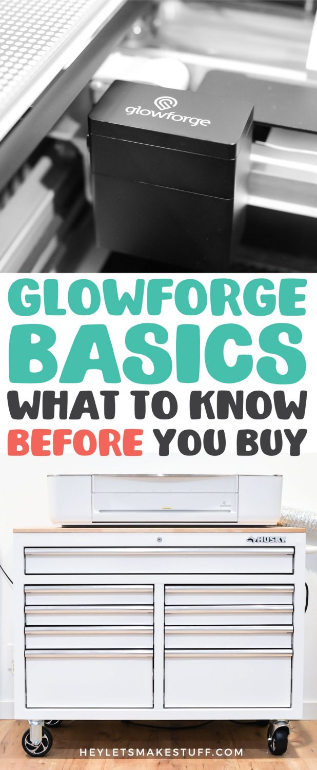Glowforge Basics: What you need to know before you buy pin image