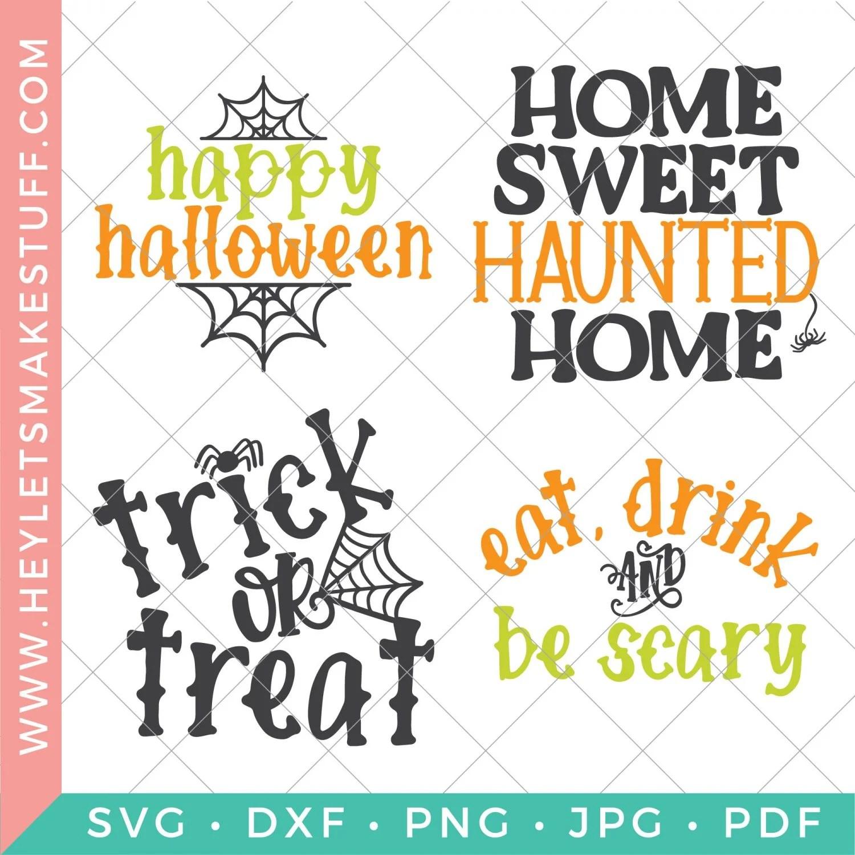 Halloween cut files bundle