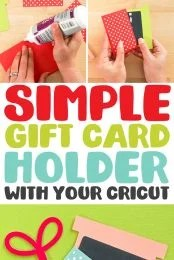 How to Make a Gift Card Holder with your Cricut pin image