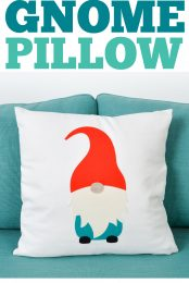 Gnome pillow pin image